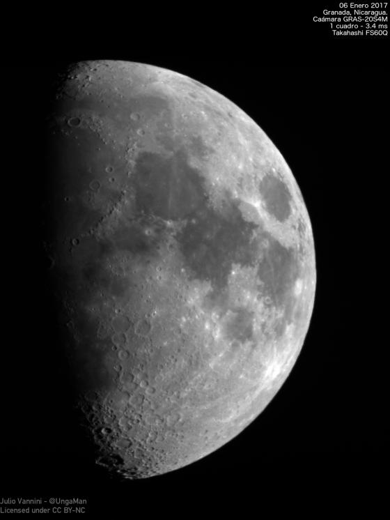 La Luna del 6 de Enero